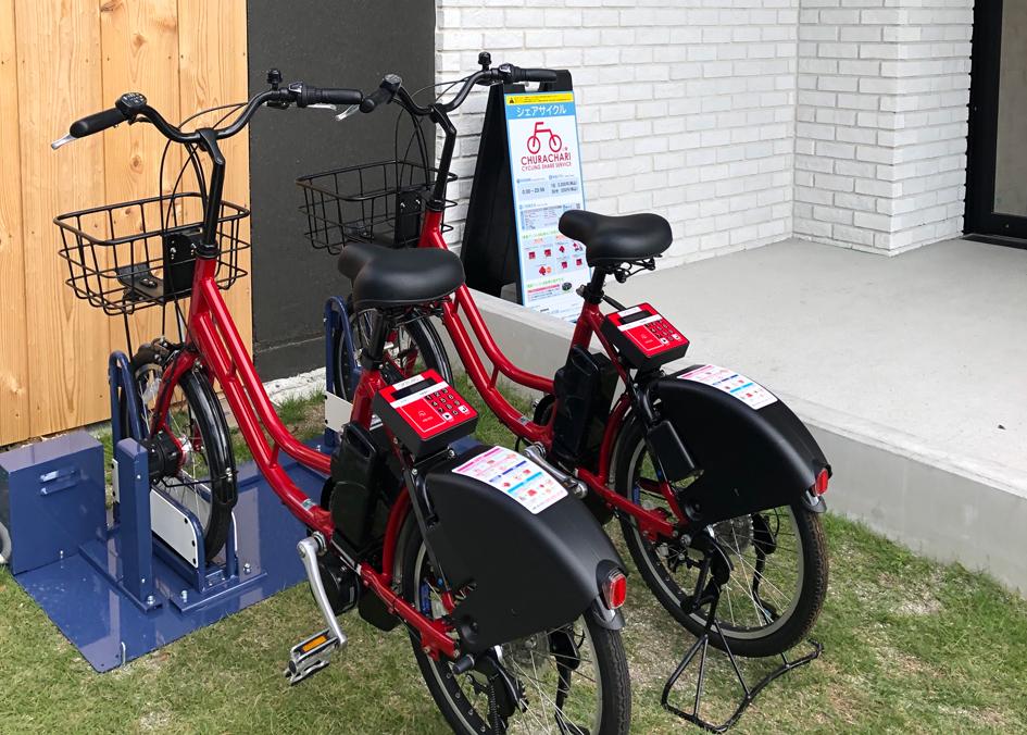 ちゅらチャリの自転車