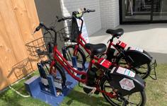 レンタル自転車の写真1