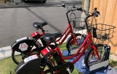 レンタル自転車の写真2