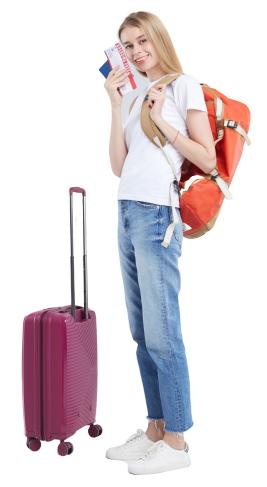 旅行者の写真